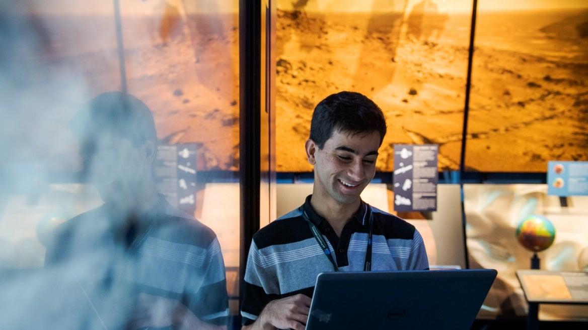 ASU student Aditya Khuller