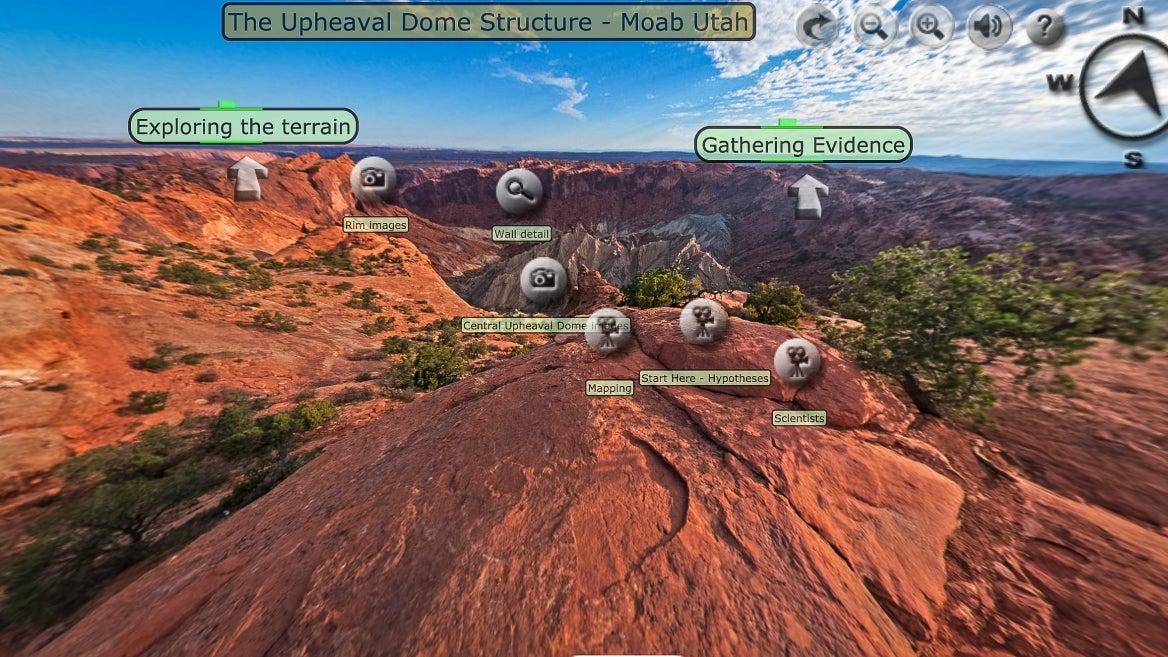 virtual field trip screenshot