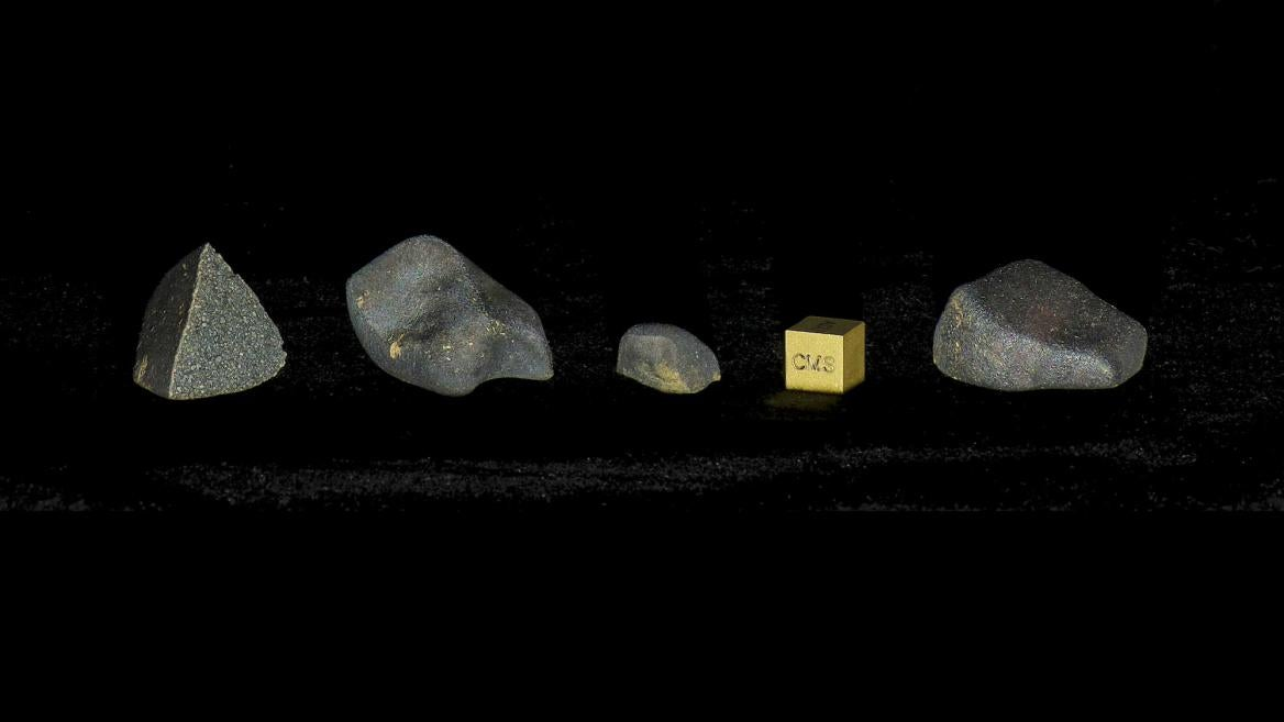 Aguas Zarcas meteorite samples