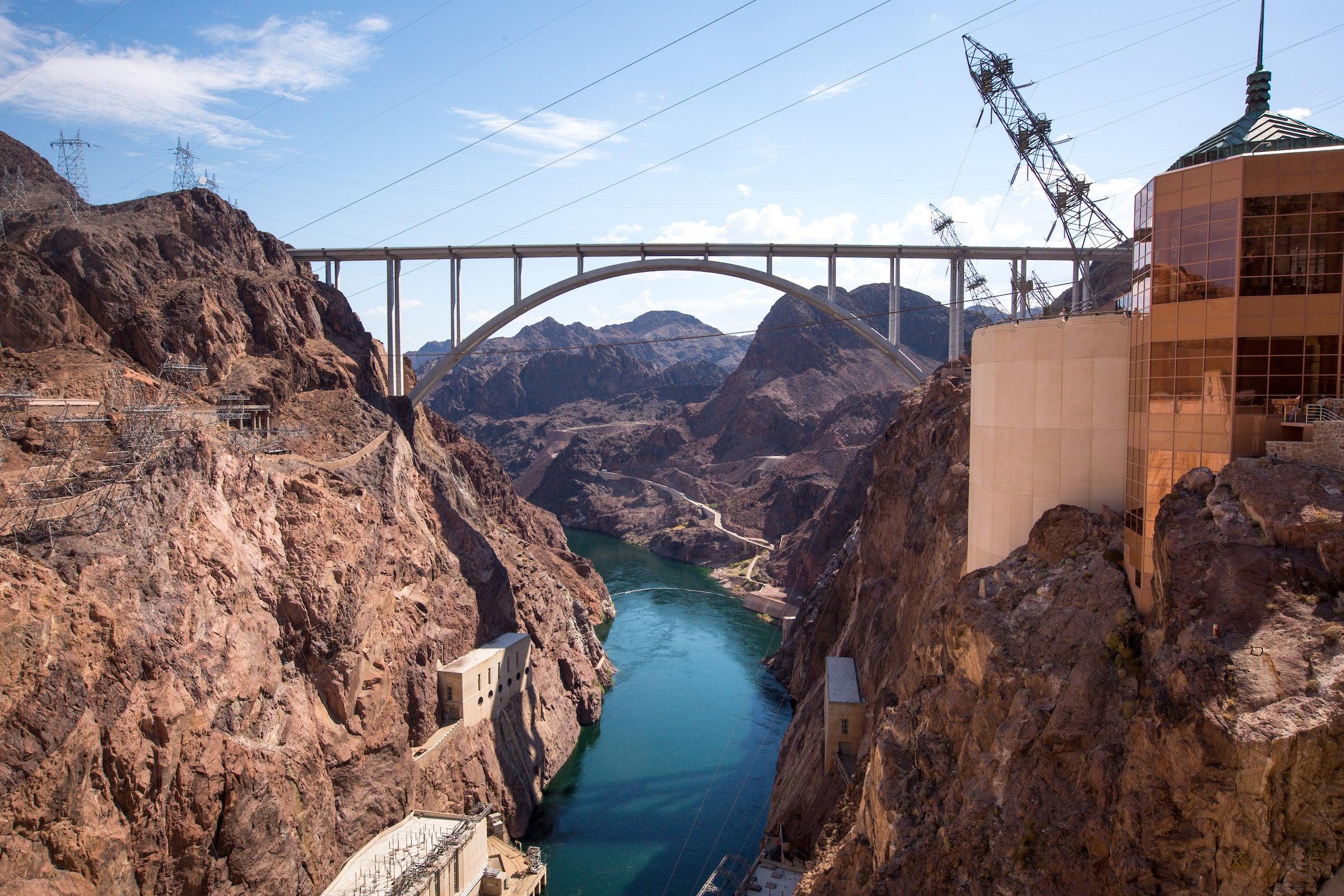 Bridge over Hoover Dam