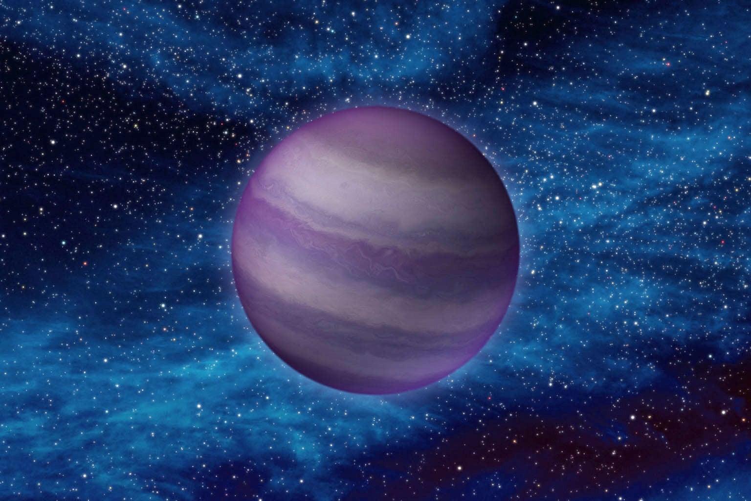 NASA artist image of brown dwarf