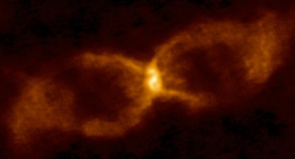 hourglass star collision
