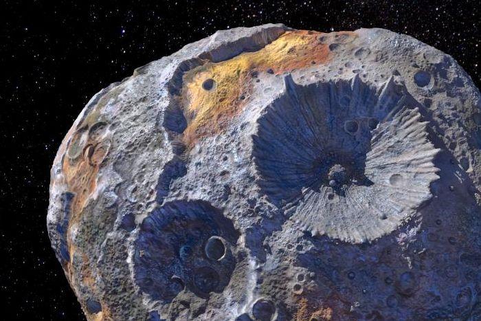 Psyche asteroid ASU